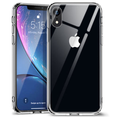 low priced 11a08 17b38 ESR iPhone XR Mimic Series Tempered Glass Phone Case - Clear
