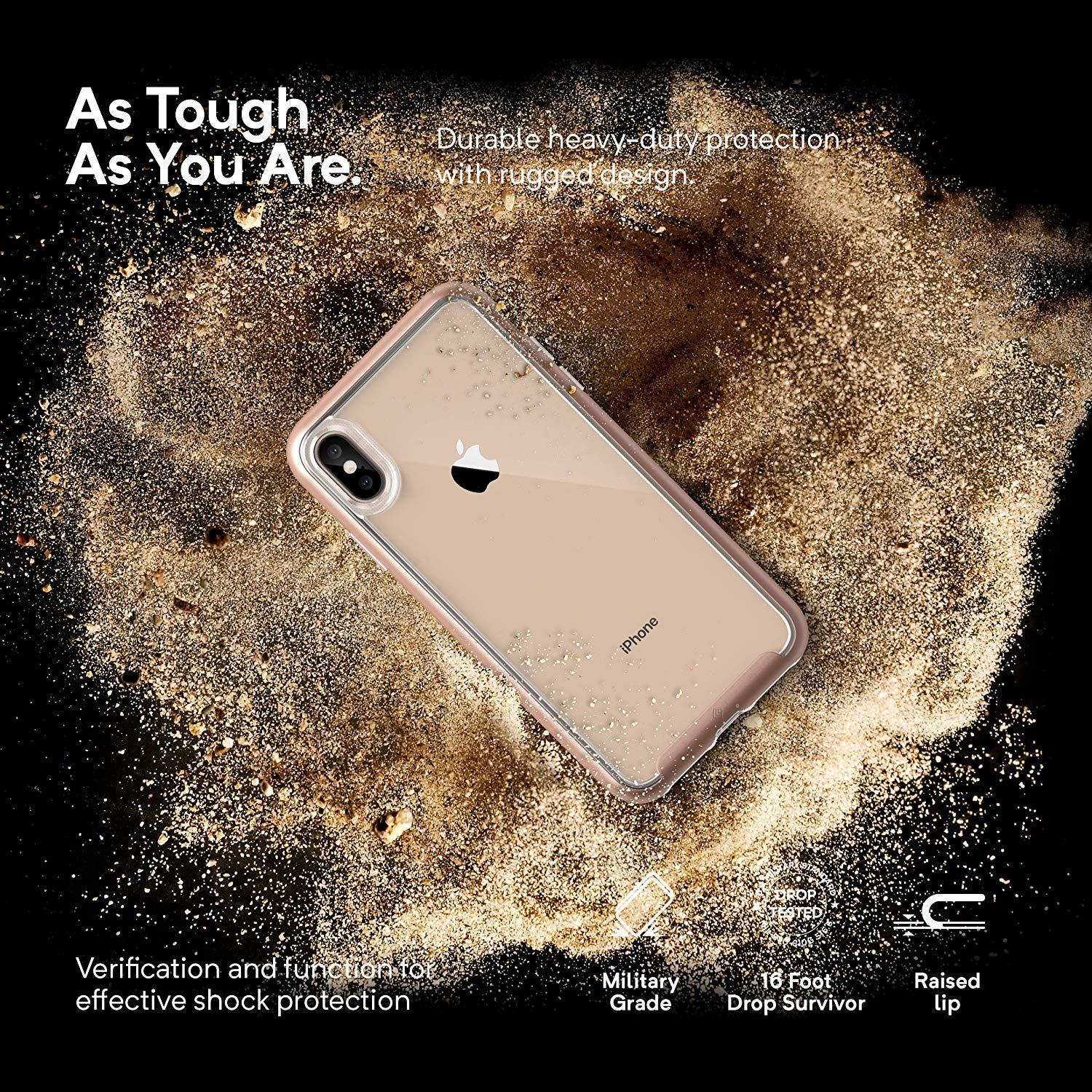 b46fbed98f6 Caseology iPhone XS Max Skyfall Series Phone Case - Gold – Techstop