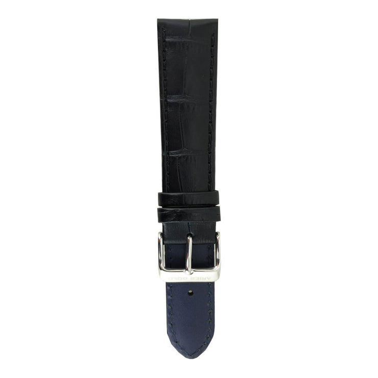 Midnight Black Croco AG-L0001 18mm Strap