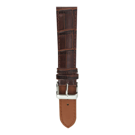 Tan Brown Croco AG-L0002 20mm Strap