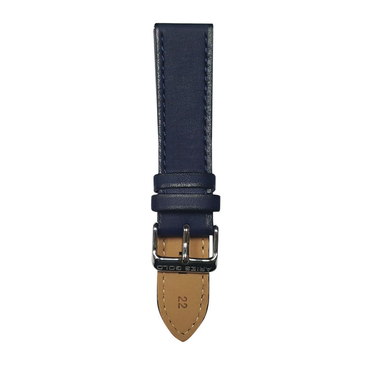 Aegean Blue Plain AG-L0022 22mm Strap