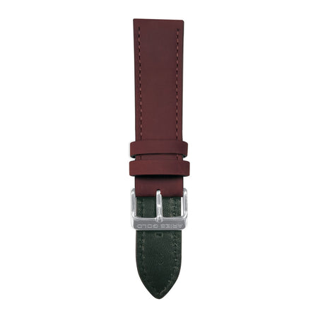 Maroon Crazy Horse AG-L0033 22mm Strap
