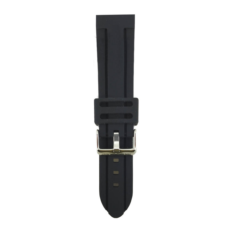 Black Miami AG-R0001 24mm Strap
