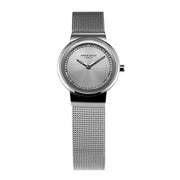 Aries Gold Women | Silver Classic Ladies Watch L 5003 S-S | Steel Wire Mesh
