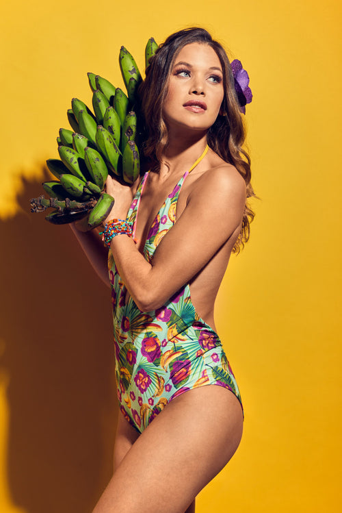 Ana Nuqui Bananas One Piece Palmazul Beachwear