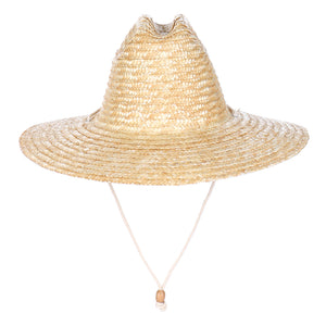 Lifeguard Straw Adjustable Chin Cord Hat