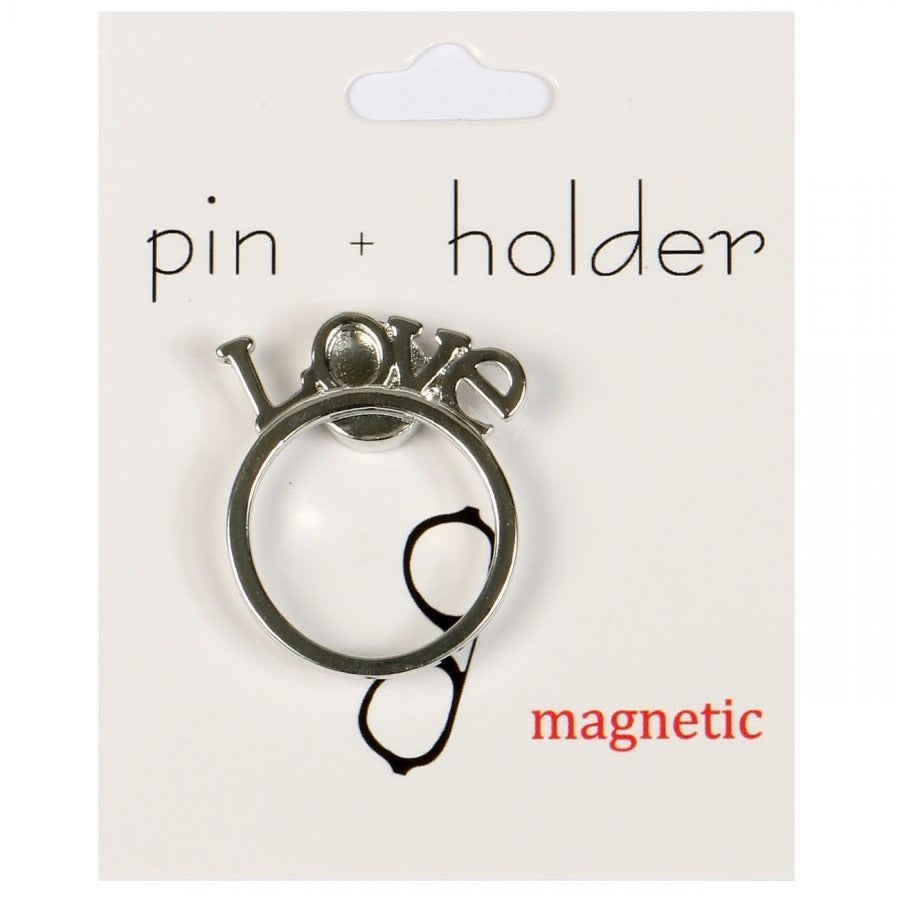 PIN + HOLDER - Love Magnetic Decorative Pin & Eyeglass Holder