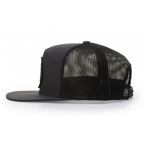 Richardson 7 Panel Arch Snapback with Adjustable Plastic Back