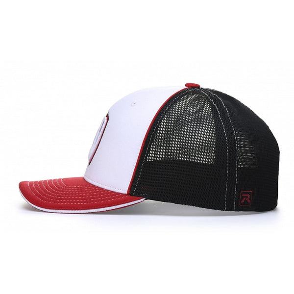 Richardson Pulse Performance Sportmesh with Piping Cap (Tri-Colors)