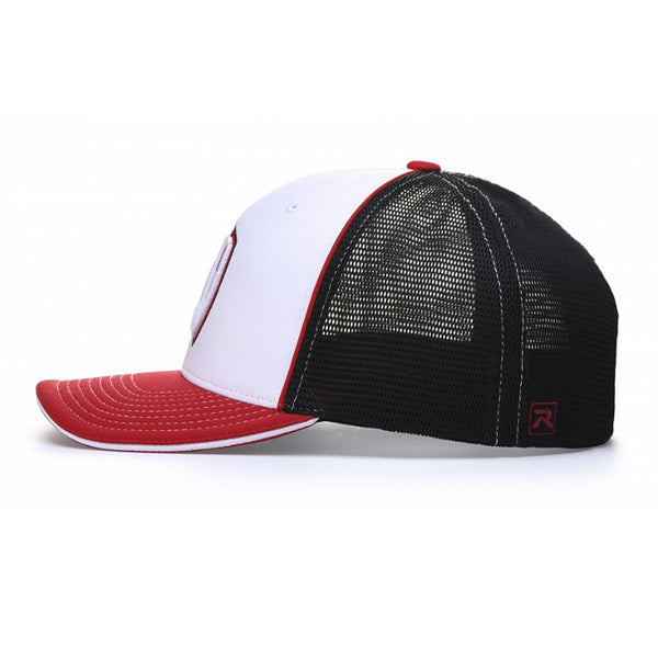 Richardson Pulse Performance Sportmesh with Piping Cap (Split Colors)