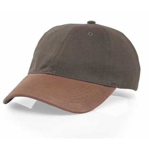 Richardson Two Tone Leather Visor Cap