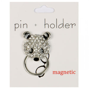 PIN + HOLDER - Panda Magnetic Decorative Pin & Eyeglass Holder