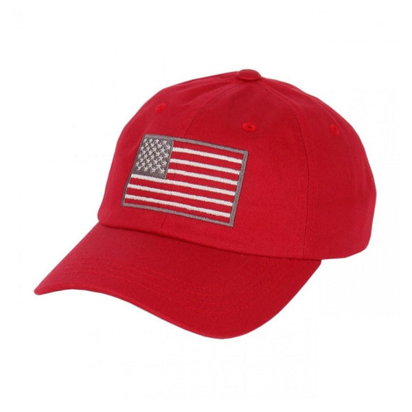 USA Army American Flag Embroidered Yupoong Baseball Straback Cap By Flexfit