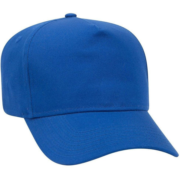 5 Panel Pro Cotton Twill Cap