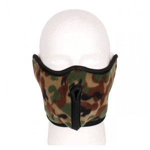 Fleece Half Cover Face Ski Masks And Earmuffs