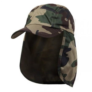 Ear Flap Baseball Cap Style Sun Protection Hats Wholesale