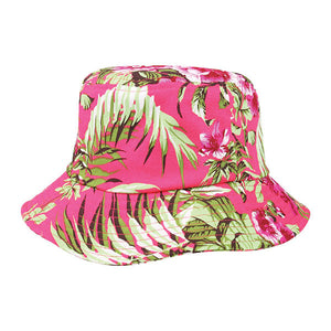 Cotton Floral Bucket Hat