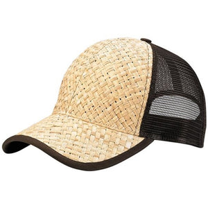 Trucker Straw Hat Snapback