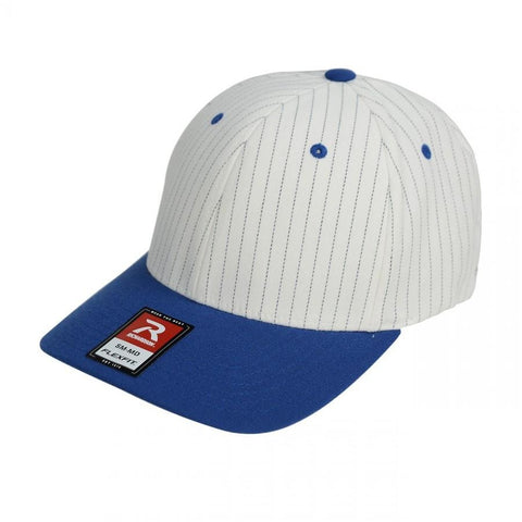 Richardson Pro Pinstripe 2 Tone Baseball Cap with Precurved Visor