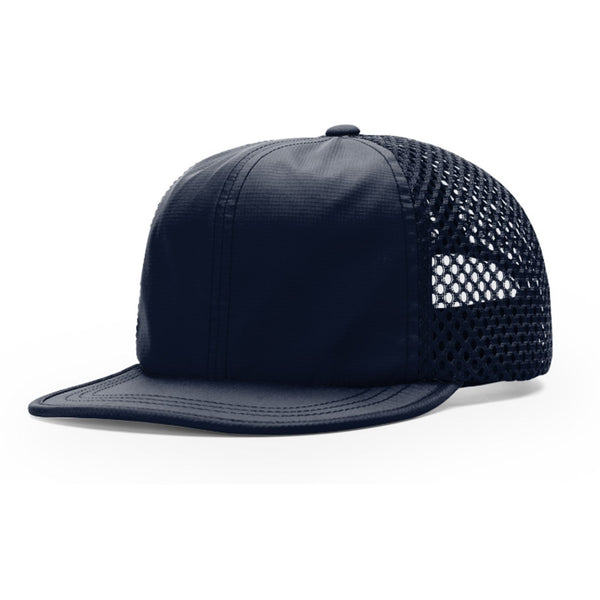 Richardson Breathable Wide-Set Nylon Mesh Polyester Adjustable Nylon Woven Strapback