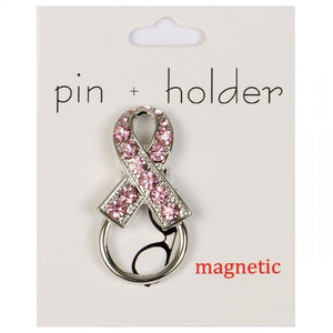 PIN + HOLDER - Ribbon Magnetic Decorative Pin & Eyeglass Holder