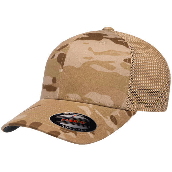 Flexfit Multicam Trucker Mesh Cap