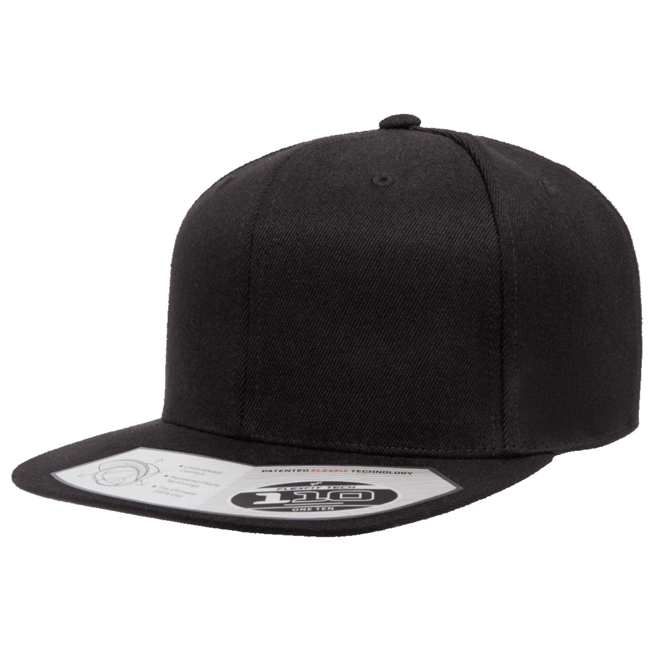 Flexfit 110 Premium Solid Adjustable Snapback
