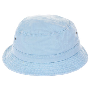 Pigment Dyed Twill Washed Ribbed Bucket Hat