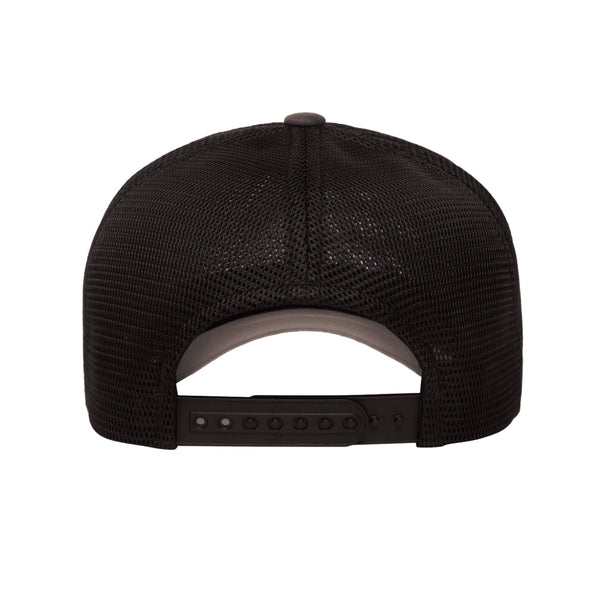 Yupoong Classics Two-Tone Unstructured 6-Panel 360 Omnimesh Snapback