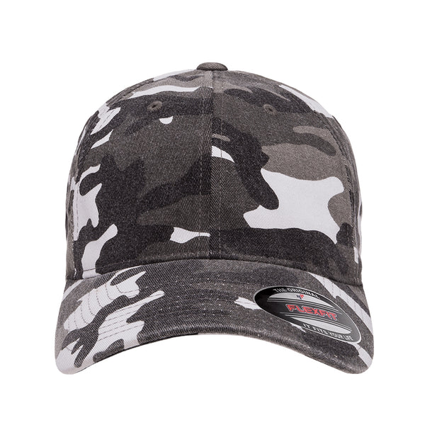 Flexfit Garment Washed Camo