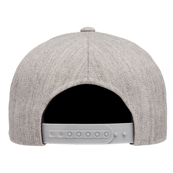 Yupoong Classics 5-panel Structured Curved Visor Snapback