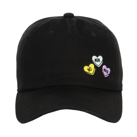 Embroidered heart candy sweet love valentine's day gift dad hat