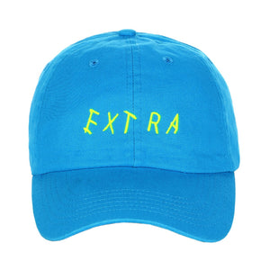 Embroidered Neon EXTRA Unstructured Baseball Unisex Dad Hat