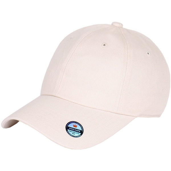 Low Profile Washed Cotton Strapback Dad Cap