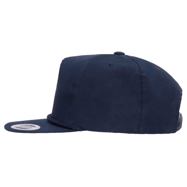 Yupoong Classic Poplin Golf Cap w/ Adjustable Snap