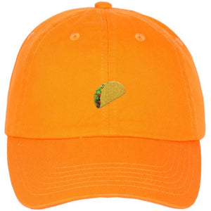 0d8538e00cf Taco Emoji Embroidered on Unstructured Dad Hat. HATS. HATS. HATS. HATS. HATS.  HATS. HATS