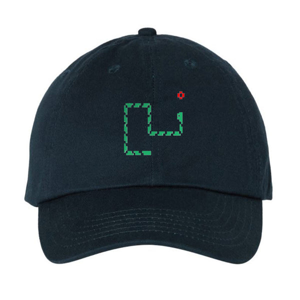 Retro Nokia Snake Game Unstructured Strapback Dad Hat