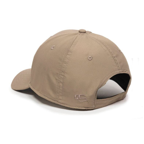 Low Profile 6 Panel Lightly Structured Pre-Curved Visor Trucker Hat Cap