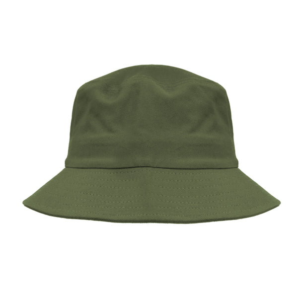 Solid 100% Cotton Bucket Hat