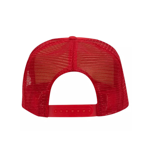 5 Panel High Crown Polyester Foam Front Mesh Back Trucker Hat