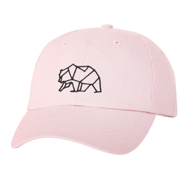 """Constellation Bear"" Embroidered Solid Adjustable Strapback Dad Hat"