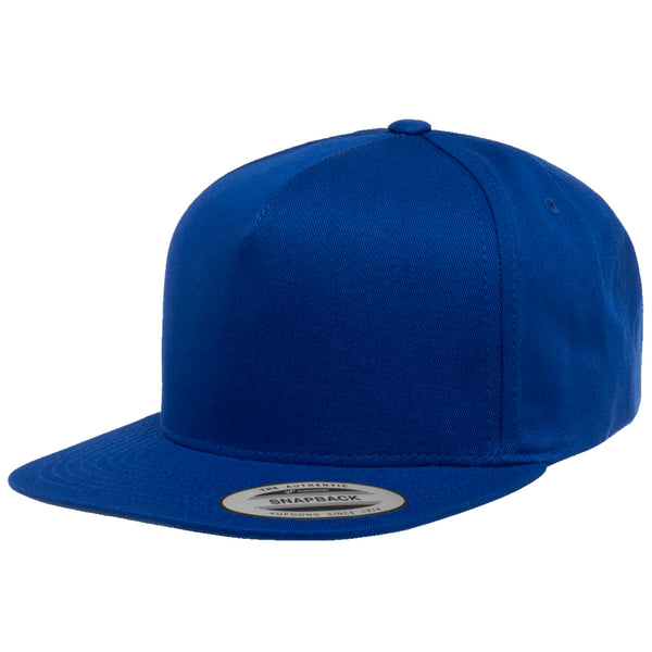 Flexfit Yupoong Classic 5 Panel Cotton Twill Adjustable Snapback Cap