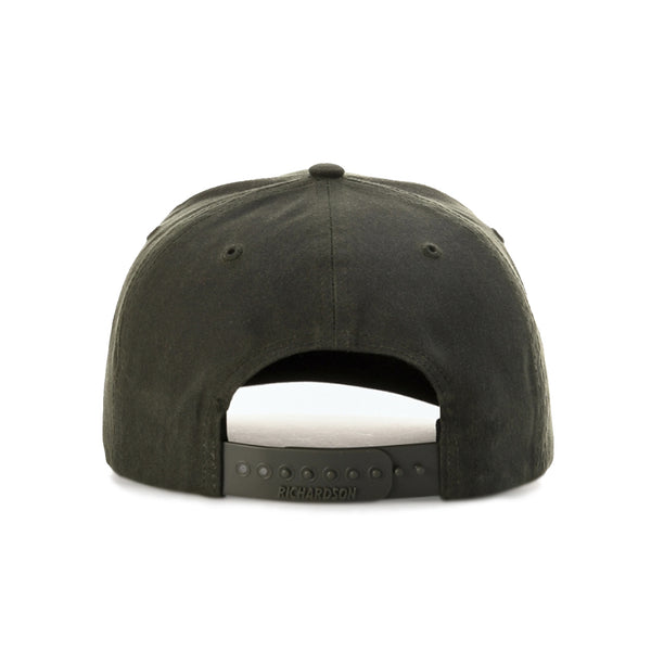 Richardson 7 Panel FullPro Waxed/Oil Cloth Precurved Adjustable Snapback