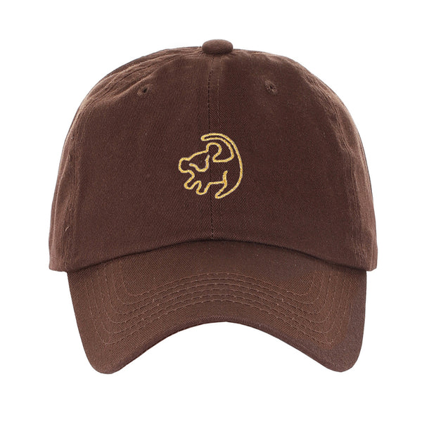 Embroidered Lion King Simba Drawing Animation Character Dad Hat