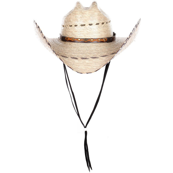Western Classic Straw Cowboy with Embellishment Band (2 Colors)