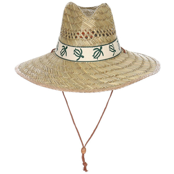 Classic Straw Hat with Design Band