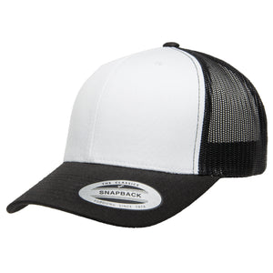 Yupoong Classics Retro Trucker Cap w/ White Front Panel