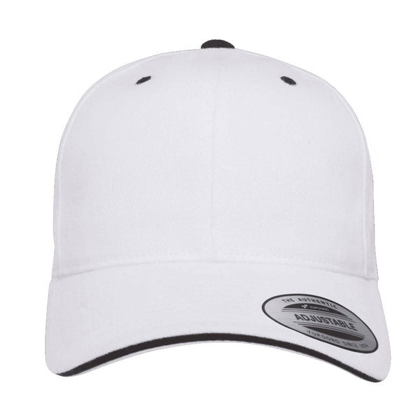 Flexfit Brushed Cotton Sandwich Visor Hat