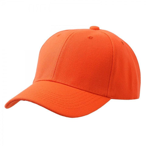 Plain Baseball Cap with Velcro Strap - More Colors