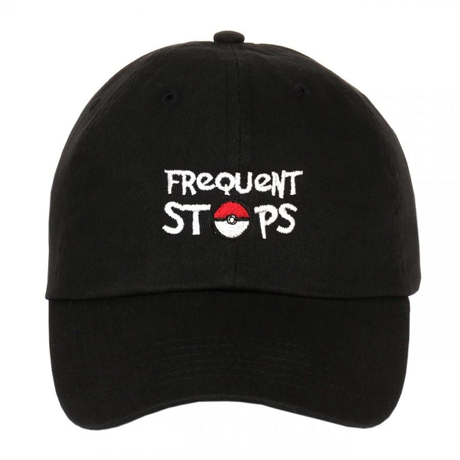 Exclusive Pokemon Frequent Stop Dad Hat